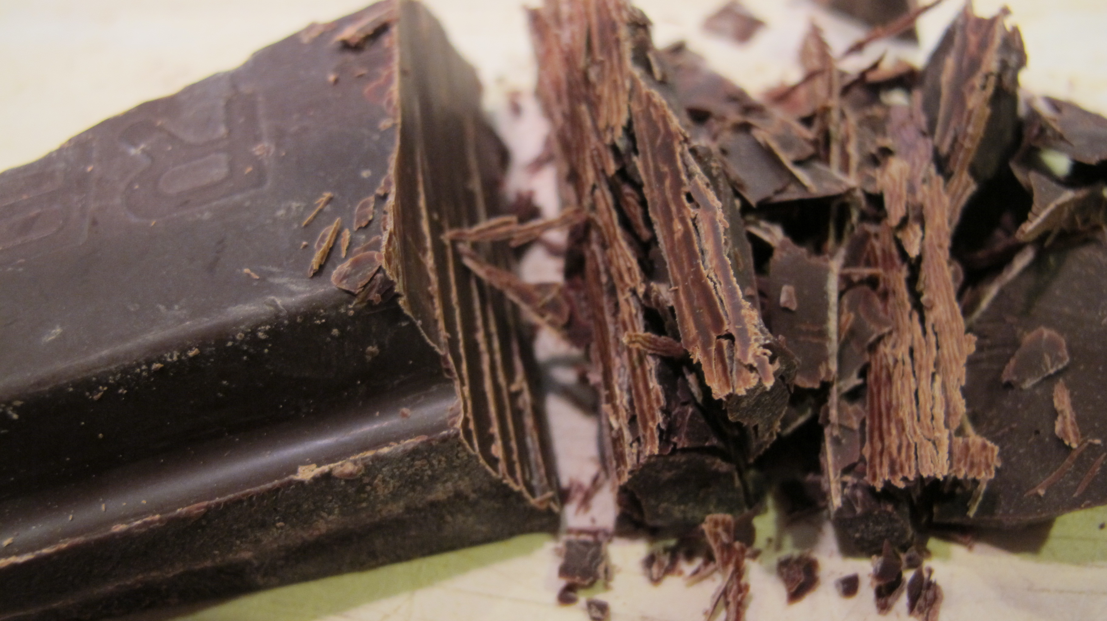 Always use high-quality dark chocolate.