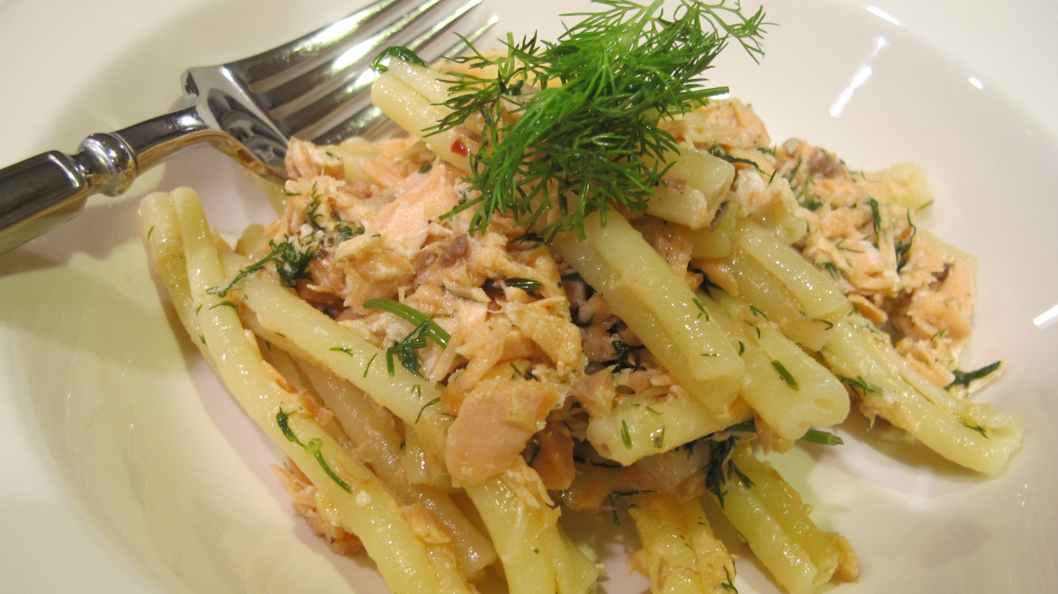 Salmon Pasta with Dill