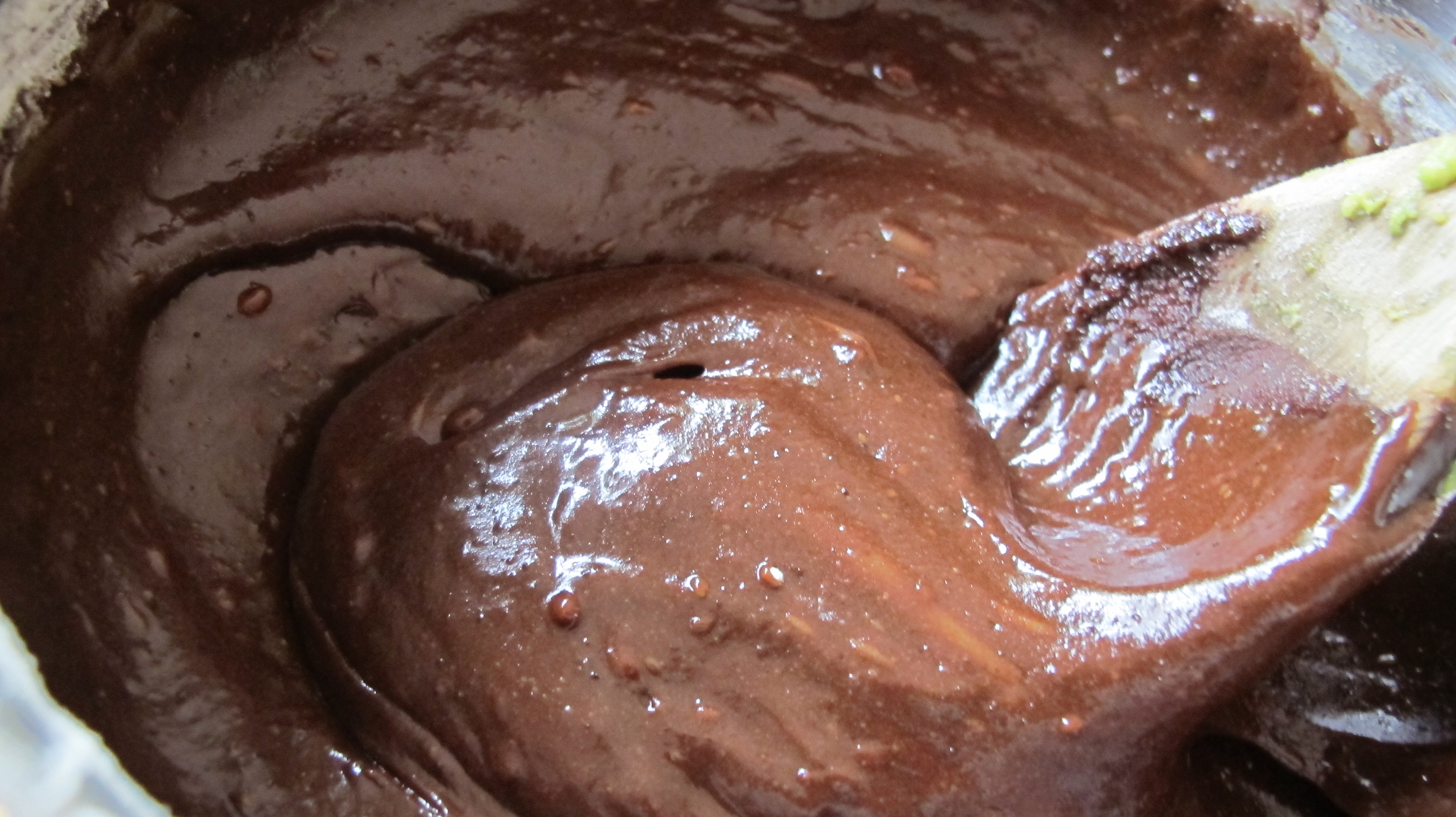 Smooth Chocolate Batter