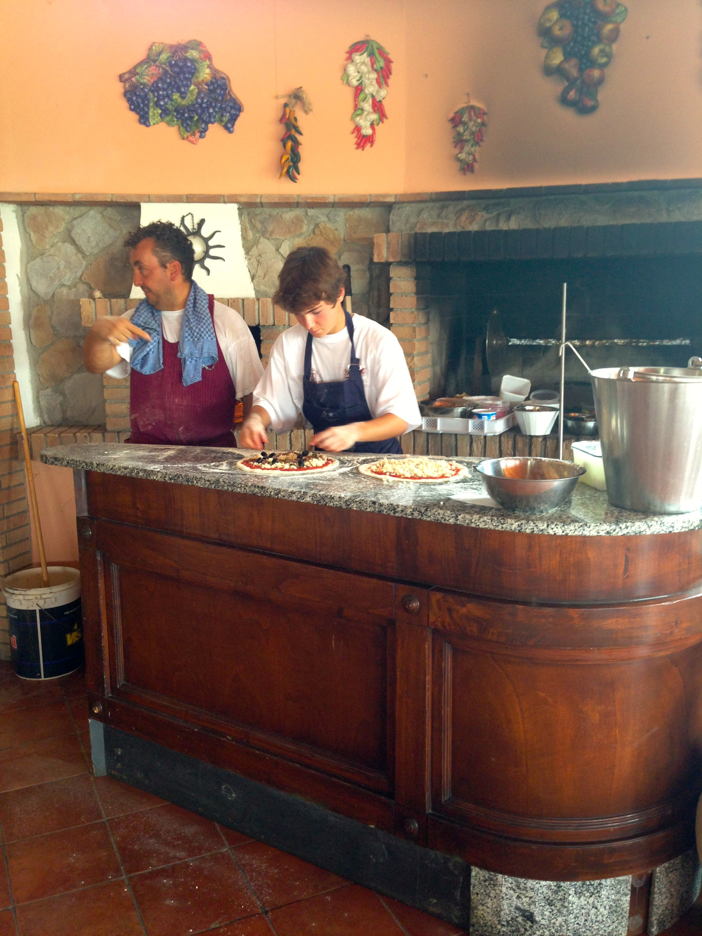 Pizzaiolo at the Agirhotel