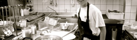 Head of BenGusto Dining, BenGusto Chef Ben Gaiarin - 16 years old