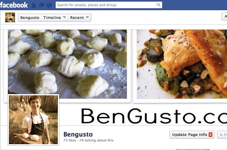 BenGusto™ Facebook Page