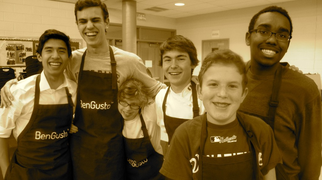 The BenGusto™ Buddy Team: Jair, Sam, Halle, Ben, Patrick, and CJ (from left to right).