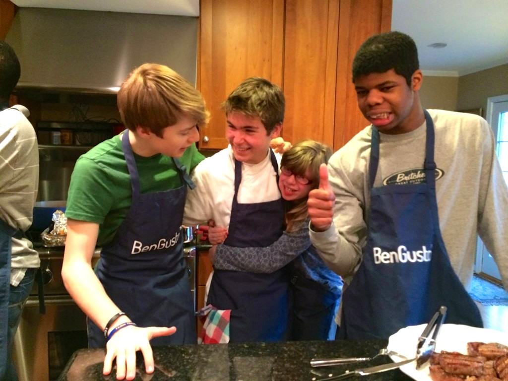 Best Buddies Cooking Class March 27