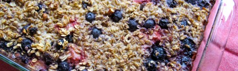 BenGusto's Berry Baked Oatmeal