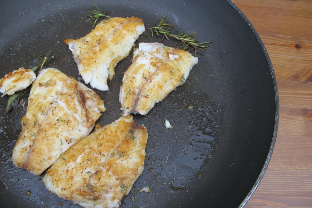 Pan Seared Orata