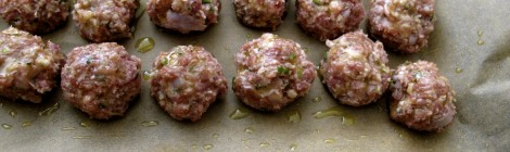 "Baked Turkey ""Polpettine"" Meatballs"