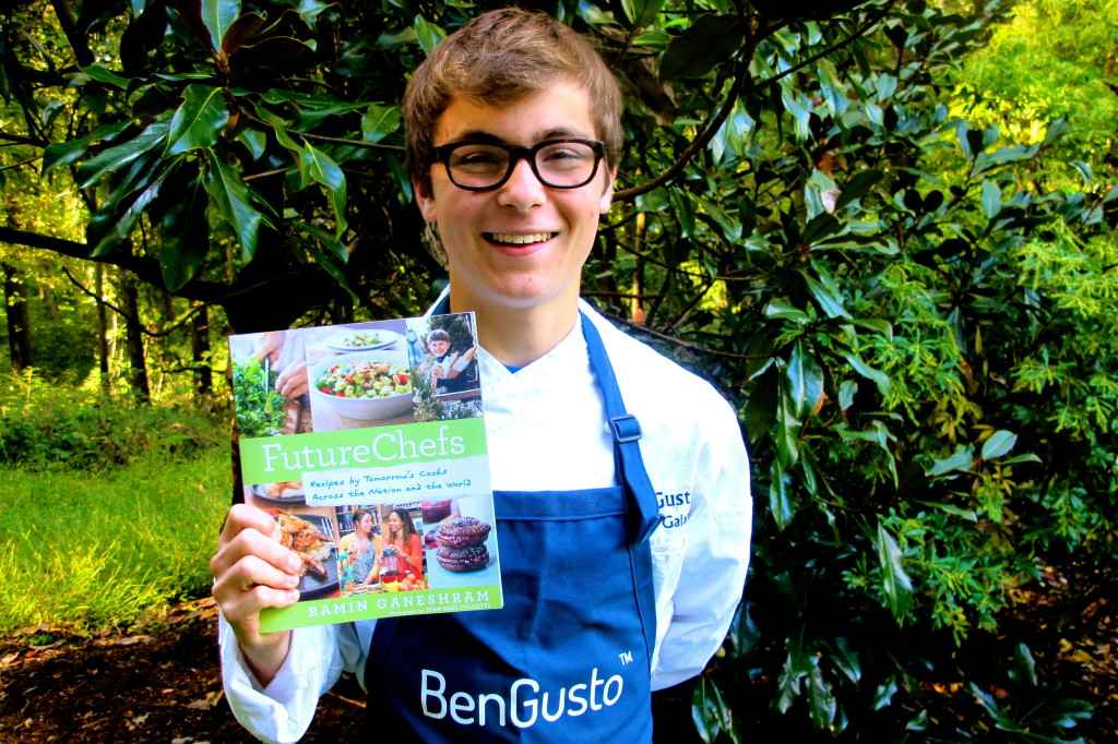 BenGusto appears in Ramin Ganeshram's FutureChefs cookbook.