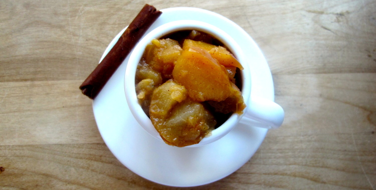 Bosc Pear and Apple Sauce
